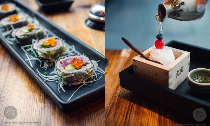 อาหารญี่ปุ่นแบบฟิวชั่นต้องที่นี่เลย Ogu Ogu