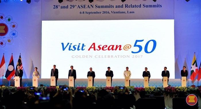อาเซียนเปิดตัวโลโก้ใหม่ Visit ASEAN@50 และแคมเปญรณรงค์การท่องเที่ยวอาเซียน