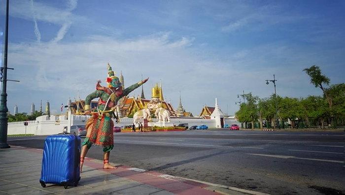 """อย่างเจ๋ง!! กองทัพ """"ทศกัณฐ์"""" ยกทัพ..ตะลุยถ่ายรูปทั่วไทย ดังทั่วโซเชียล"""