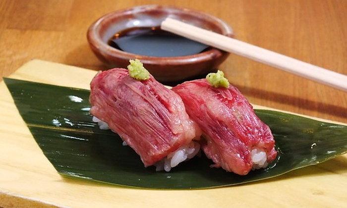 เพราะซูชิไม่ได้มีแค่ปลา! หลากเมนูเด็ดซูชิหน้าเนื้อ ขวัญใจคนกินเนื้อ