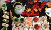 สวยเลอค่า Afternoon Tea ฤดูใบไม้เปลี่ยนสี