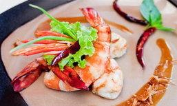 """ร้านอาหาร """"ครัวฆาราฑี"""" เกาะช้าง อาหารทะเลสด รสชาติไทยแท้"""