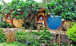 'บ้านสวนน้อย'  โฮมสเตย์สไตล์ 'บ้านฮอบบิท'  น่ารัก สดใส เหมือนอยู่ในเทพนิยาย