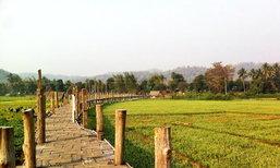 สะพาน 'ชูตองเป้' สะพานไม้แห่งศรัทธา จ.แม่ฮ่องสอน