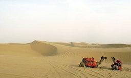 ขี่อูฐในทะเลทราย First Time อินเดีย