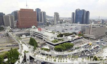 เกาหลีใต้เปลี่ยนไฮเวย์ร้างกลางกรุงโซล เป็นสวนสาธารณะลอยฟ้า