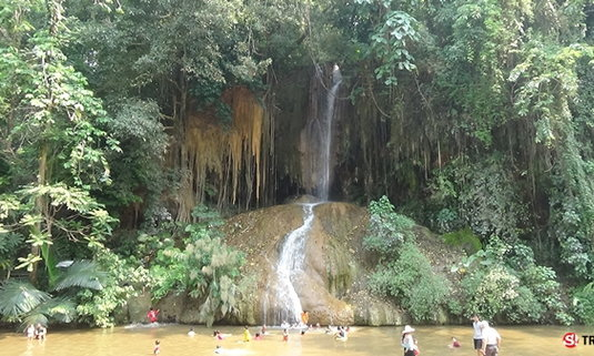 Unseen 'น้ำตกภูซาง' จ.พะเยา น้ำตกอุ่นแห่งเดียวในประเทศไทย...