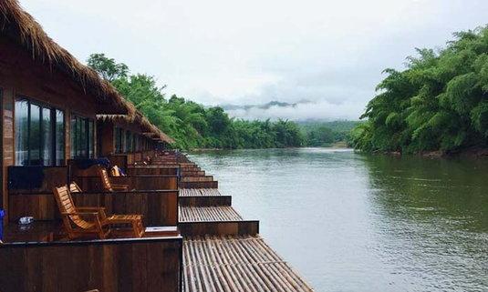 2 วัน 1 คืน กับหน้าฝนที่สวยงามที่สุด ณ กาญจนบุรี ที่นี่มีแต่ความสุข