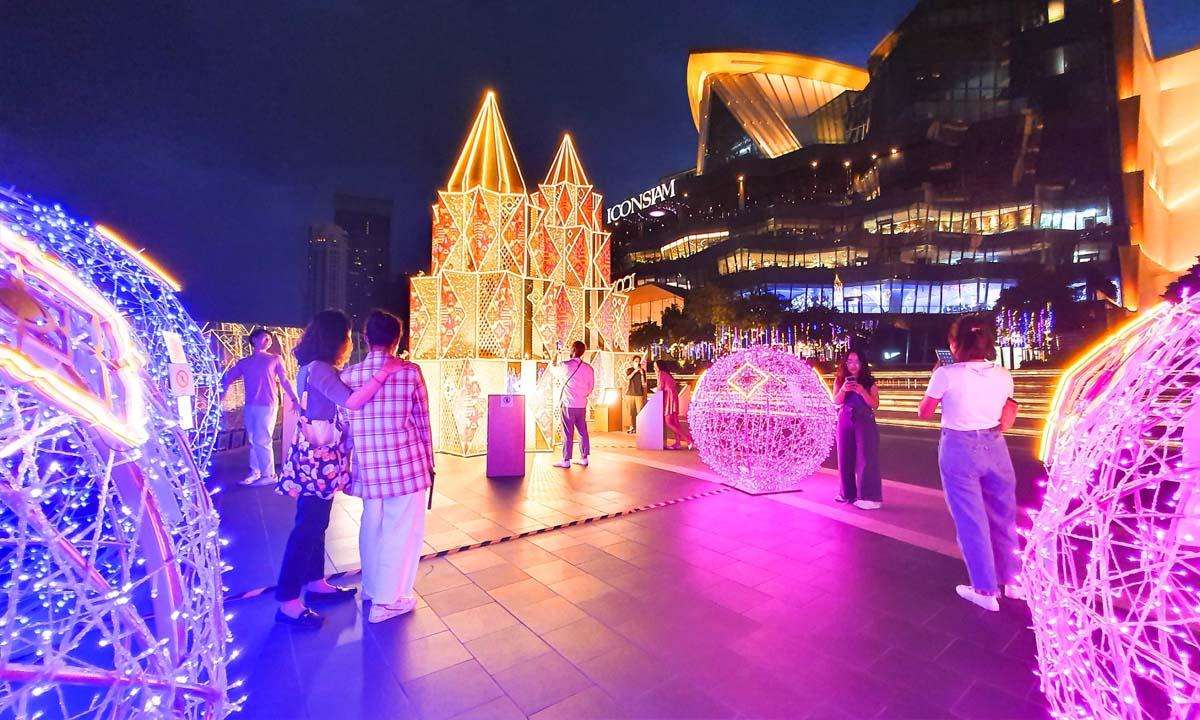 """Bangkok Illumination 2020 At ICONSIAM"" งานประดับไฟสุดตระการตาริมแม่น้ำเจ้าพระยา"