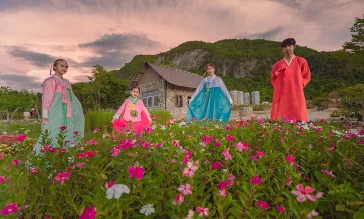 สวน วอน-แด-ซอง เกาหลีทิพย์แห่งกาญจนบุรี