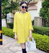 สีเหลืองสะท้อนแสง
