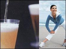 การออกกำลังกายและดื่มสุรา