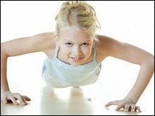 <font color=996633> เด็กควรออกกำลังกายเช่นกัน</font>