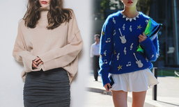 Korean Sweater Choices For Cold