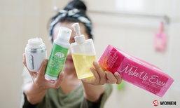 4 ตัวช่วยล้างหน้าให้สะอาดเกลี้ยง ไร้สิวบุก