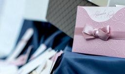 การ์ดแต่งงานหวานแหวว กับธีมสีพาสเทลที่ใครได้รับเป็นต้องหลงรัก !