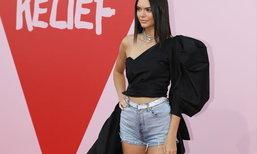 Yay or Nay? เมื่อ Kendall Jenner ใส่เดนิมสั้นกุดเดินพรมแดงคานส์!