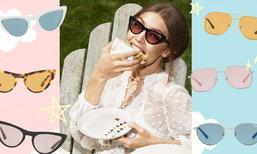 นี่คือคอลเล็กชั่นแว่นกันแดดที่ออกแบบโดย Gigi Hadid