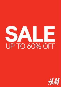H&M ลดกระหน่ำสูงสุด 60%
