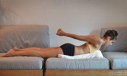 นอนหลับสบายกับ 6 ท่าโยคะง่ายๆ มือใหม่ทำได้เเค่มีหมอนใบเดียว!