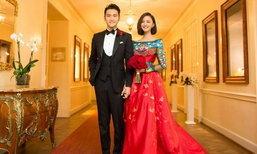 งานแต่งงานสไตล์วินเทจของดาราจีน มีความแดงแรงฤทธิ์ และเริ่ดมาก