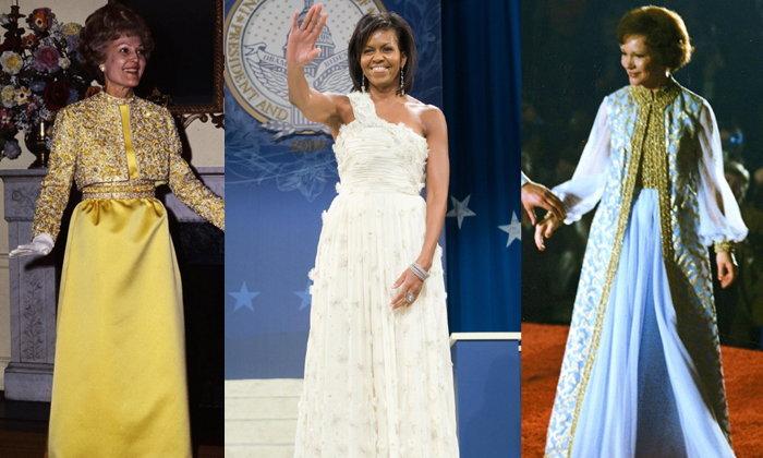 เปิดประวัติศาสตร์แฟชั่นชุดราตรีของสตรีหมายเลข 1 ที่แฝงเรื่องการเมืองไว้มากที่สุด!