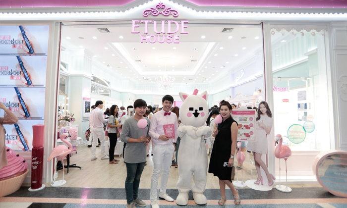 """""""อีทูดี้ เฮ้าส์"""" อีทูดี้ เฮ้าส์ ประเทศไทย ฉลองความสำเร็จด้วยการเปิดร้าน Flagship"""