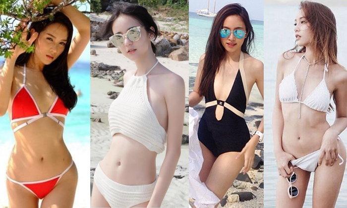 6 สาวเทียมของไทยในชุดบิกินี่ สวย หุ่นดี จนชะนีต้องยอมสยบ!