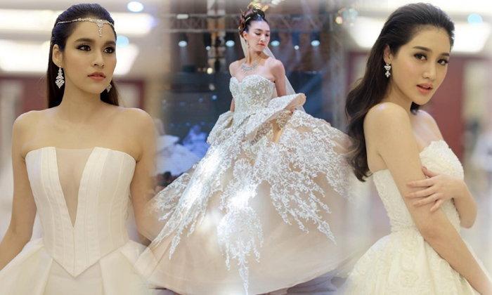 แพนเค้ก-หยาด นำทีมแฟชั่นโชว์ชุดแต่งงาน ยิ่งใหญ่อลังการ ณ สปป.ลาว