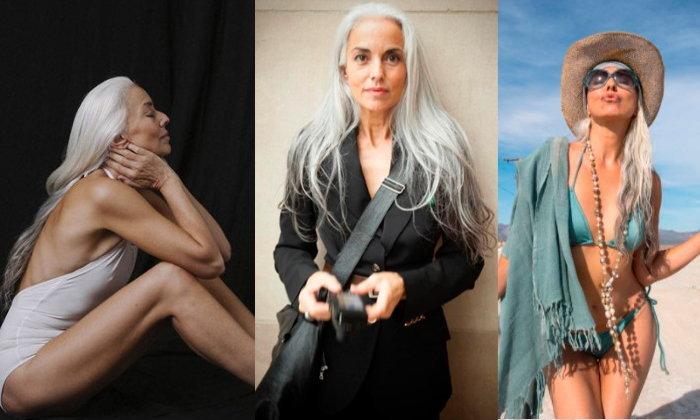 Yazemeenah Rossi ผู้หญิงอายุ 61 ปี ที่ดูแลตัวเองได้ดีมาก
