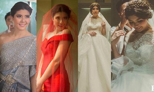 5 ชุดเจ้าสาวสุดเลอค่าในงานแต่งงานเจนนี่ อั๋น