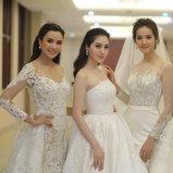 ชุดแต่งงานดารา