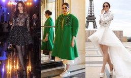 ส่องชุด ชมพู่ อารยา งานแฟชั่นโชว์ระดับโลก ปารีสแฟชั่นวีค ชุดไหนผ่าน ชุดไหนพัง ตามมา