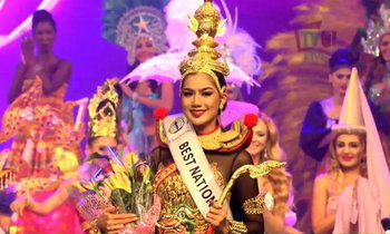 อาร์ม อาทิตยา เจ๋ง คว้าชุดประจำชาติยอดเยี่ยม Miss Intercontinental 2016