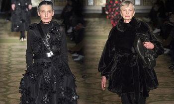 นางแบบสูงวัยผู้ครองรันเวย์ London Fashion Week ที่คุณต้องรู้จัก
