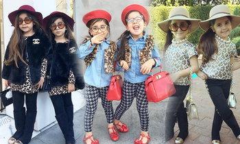 2 ฝาแฝดสุดน่ารัก! 4 ขวบแต่งตัวชิคจนวัยรุ่นต้องอาย