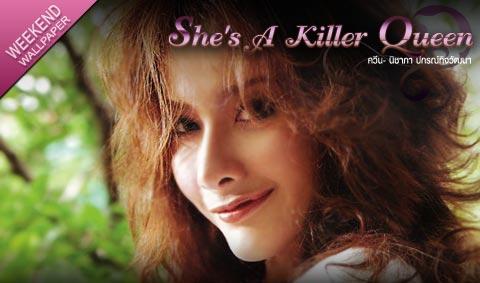 ควีน นิชาภา ปกรณ์กิจวัฒนา wallpaper : She's A Killer Queen