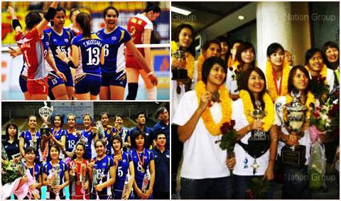 ไม่ท้อจึงได้มา : ชัยชนะที่ยิ่งใหญ่ของนักตบสาวทีมชาติไทย
