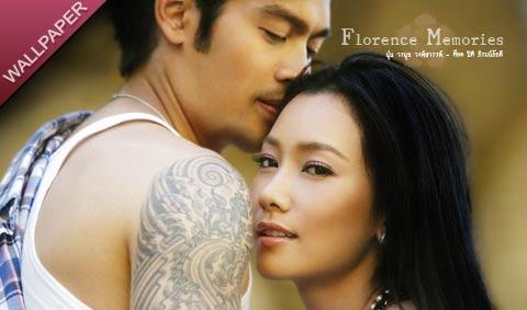 นุ่น วรนุช วงศ์สวรรค์ + ต๊อด ปิติ ภิรมย์ภักดี wallpaper : Florence Memories
