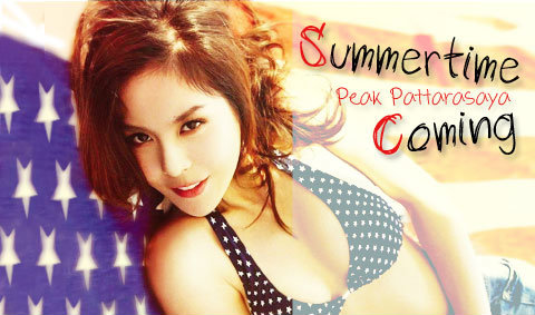 Peak Pattarasaya Wallpaper : Summertime Coming