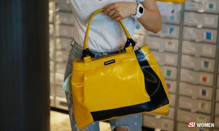 เช็คราคา Freitag กระเป๋าสุดชิคที่มีใบเดียวในโลก