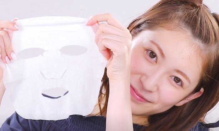"""มาสก์หน้าใสใน 1 นาที แบบเน็ตไอดอลญี่ปุ่น """"Akari Yoshida"""""""