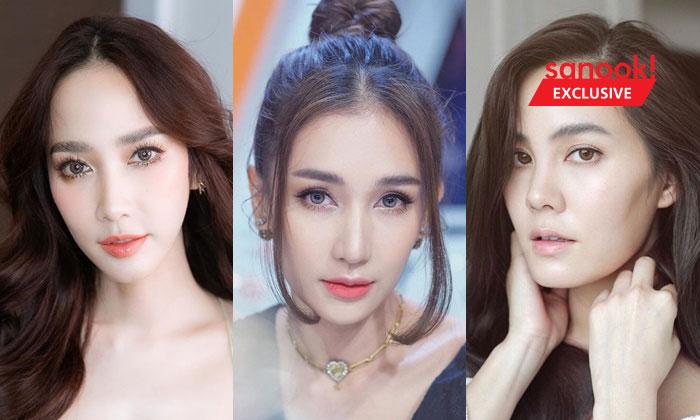 5 ดาราหน้าสวย ต้นแบบศัลยกรรมสาวไทย ใครๆ ก็อยากสวยแบบนี้