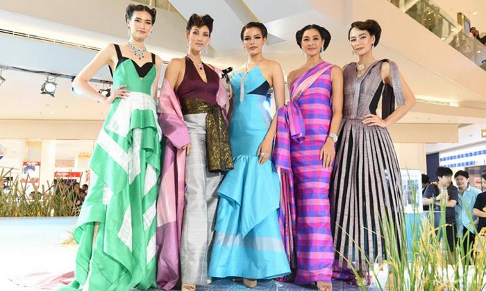 """รวมความงดงามของผ้าไหมไทย ในงาน """"ทรัพย์แผ่นดิน ศิลป์สยาม : Thai Treasures"""""""