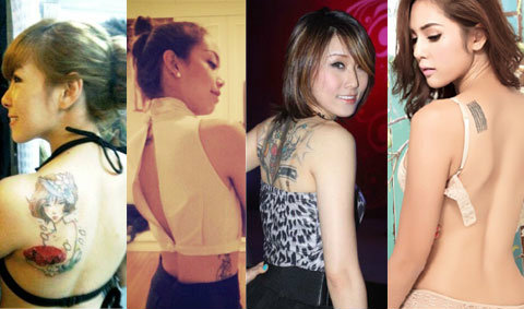 ผู้หญิงไทย สักเยอะกว่าที่คิด
