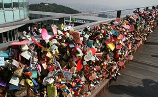 Lock your love heart(s) at N Seoul Tower