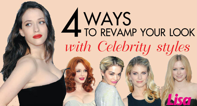 4 WAYS TO REVAMP YOUR LOOK