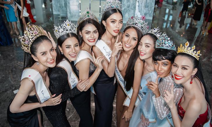 77 มิสแกรนด์ รายงานตัววันแรก พร้อมประชันมงกุฏ Miss Grand Thailand 2020