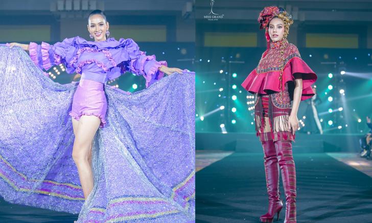 Miss Grand Thailand 2020 กับชุดผ้าไทยสุดอลังการ ที่มีเพียงชุดเดียวในโลก