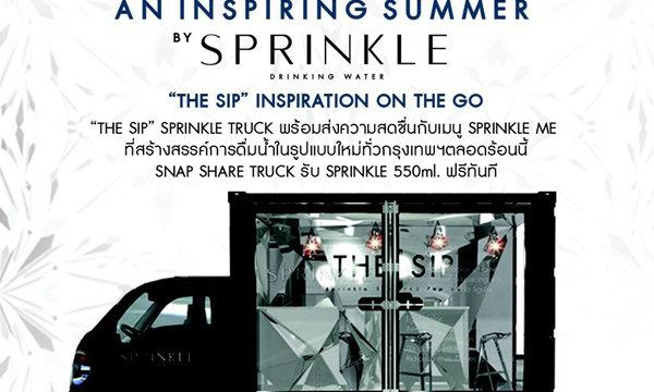 Sprinkle สุดเก๋ ส่ง Truck สร้างสรรค์ความสดชื่นทั่วกรุงเทพ